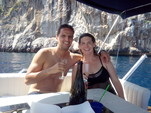28 ft. ATLANTIS GOBBI 25 CABIN YACHT Cruiser Boat Rental Capri Image 25