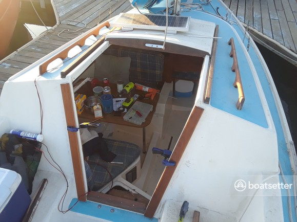 Catalina 22 Swing Keel