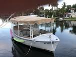 18 ft. Duffy Electric Boats 18 Snug Harbor Cruiser Boat Rental Miami Image 2