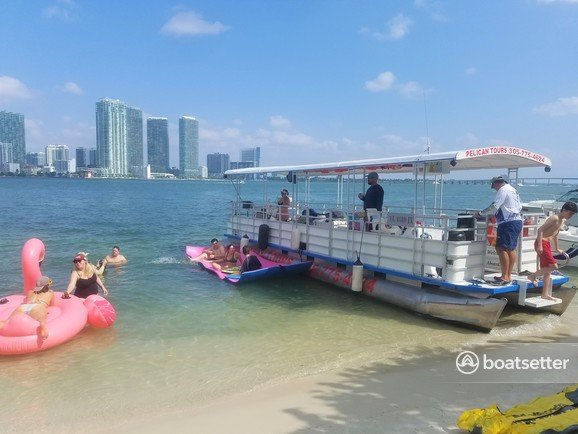 Rent a Crest pontoon in Miami, FL near me