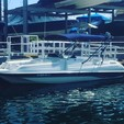 24 ft. Monterey Boats 240 Explorer Deck Boat Boat Rental Los Angeles Image 1