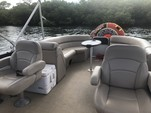 24 ft. South Bay Pontoons 722CR TT Tri-Tube Pontoon Boat Rental Miami Image 1