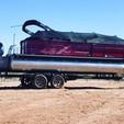 25 ft. Starcraft Marine SLS 3 Pontoon Boat Rental Las Vegas-Lake Havasu Image 1