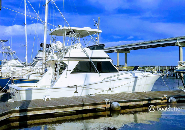 Rent a Viking Yacht offshore sport fishing in Johns Island, SC near me
