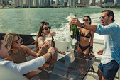 36 ft. Greenline NEO Cruiser Boat Rental Miami Image 1