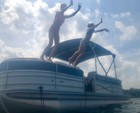 24 ft. South Bay Pontoons 722CR TT Tri-Tube Pontoon Boat Rental Miami Image 4