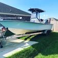 24 ft. Blazer Boats 2400 Coastal w/F250  Walkaround Boat Rental Alabama GC Image 6