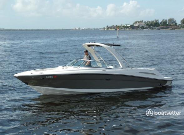 Rent a Sea Ray Boats bow rider in Cape Coral, FL near me
