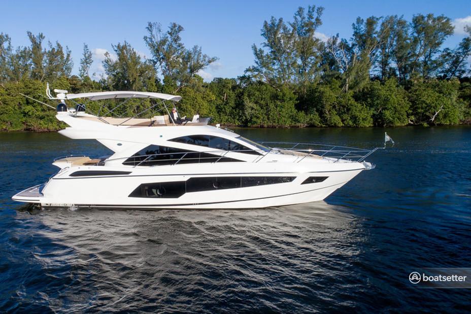 Rent a Sunseeker motor yacht in Boca Raton, FL near me