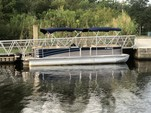 27 ft. Berkshire Pontoons 270CL Premium BP3 Tri-Tube Pontoon Boat Rental Jacksonville Image 2