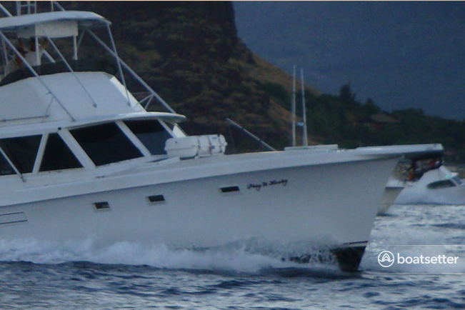 Rent a Hatteras Yachts saltwater fishing in Honolulu, HI near me