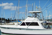 41 ft. Hatteras Yachts 41 Convertible Saltwater Fishing Boat Rental Hawaii Image 2