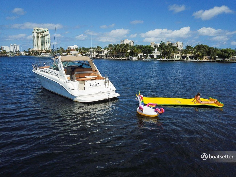 Rent a Sea Ray Boats cruiser in Fort Lauderdale, FL near me