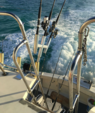 46 ft. Hatteras Yachts 46 Convertible Offshore Sport Fishing Boat Rental The Keys Image 1