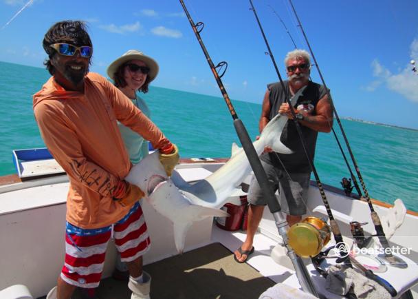 Rent a Hatteras Yachts offshore sport fishing in Key West, FL near me