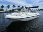 22 ft. Hurricane Boats FD 211 Deck Boat Boat Rental Tampa Image 1