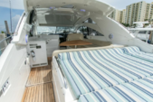 50 ft. Fairline Boats Targa 47 Cruiser Boat Rental Miami Image 1