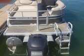 26 ft. Sun Tracker by Tracker Marine Party Barge 24 XP3 w/200L Verado Pontoon Boat Rental Atlanta Image 1