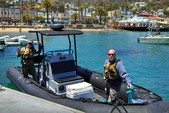 24 ft. Zodiac of North America Hurricane 733 Commando Rigid Inflatable Boat Rental Rest of Southwest Image 9