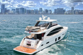 75 ft. Other Princess Y75 Cruiser Boat Rental Tampa Image 1