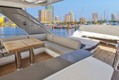 75 ft. Other Princess Y75 Cruiser Boat Rental Tampa Image 4