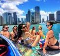 41 ft. 41' SeaRay Cruiser Boat Rental Miami Image 46
