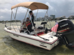 15 ft. Edgewater Powerboats 158 CS w/F70 Yamaha Center Console Boat Rental Miami Image 3