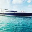 80 ft. Palmer Johnson 80 Cruiser Boat Rental Miami Image 3