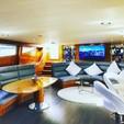 80 ft. Palmer Johnson 80 Cruiser Boat Rental Miami Image 6