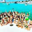 80 ft. Palmer Johnson 80 Cruiser Boat Rental Miami Image 7