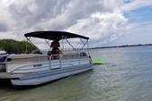 26 ft. Sun Tracker by Tracker Marine Party Barge 24 DLX w/60ELPT 4-S Pontoon Boat Rental Miami Image 1