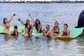 26 ft. Sun Tracker by Tracker Marine Party Barge 24 DLX w/60ELPT 4-S Pontoon Boat Rental Miami Image 3