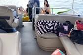 26 ft. Sun Tracker by Tracker Marine Party Barge 24 DLX w/60ELPT 4-S Pontoon Boat Rental Miami Image 5