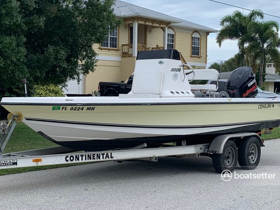 Rent a Century Boats center console in Tampa, FL near me