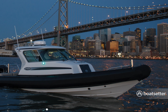 Rent a Protector rigid inflatable in San Francisco, CA near me