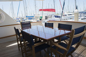84 ft. Burger Yachts Custom Cruiser Boat Rental Tampa Image 1