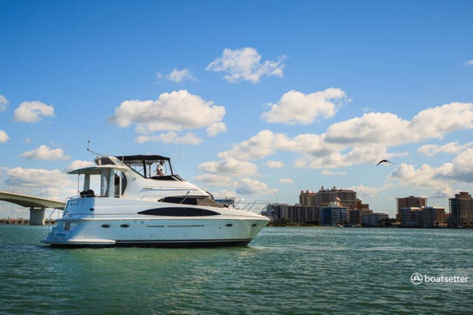 Rent a Carver Yachts cruiser in Dunedin, FL near me