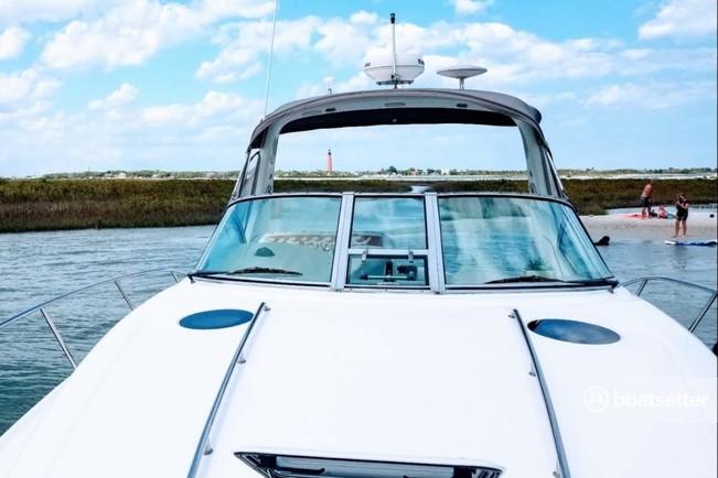 Rent a Sea Ray Boats cuddy cabin in Daytona Beach, FL near me
