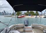 28 ft. Hurricane Boats SD 2600 I/O Cruiser Boat Rental Miami Image 4