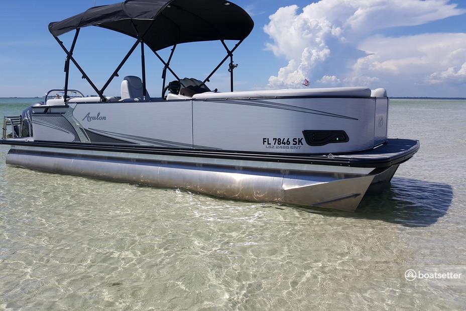 Rent a Avalon Pontoons pontoon in Tampa, FL near me