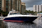 58 ft. Sea Ray Boats 550 Sundancer Express Cruiser Boat Rental Miami Image 2