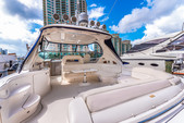 58 ft. Sea Ray Boats 550 Sundancer Express Cruiser Boat Rental Miami Image 11