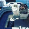 24 ft. Monterey Boats 240 Explorer Deck Boat Boat Rental Los Angeles Image 36