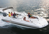 24 ft. Hurricane Boats SD 2400 Deck Boat Boat Rental Tampa Image 1