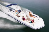 24 ft. Hurricane Boats FD 231 Deck Boat Boat Rental Tampa Image 2