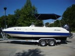 24 ft. Hurricane Boats FD 231 Deck Boat Boat Rental Tampa Image 4
