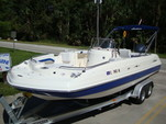 24 ft. Hurricane Boats FD 231 Deck Boat Boat Rental Tampa Image 3