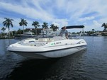 22 ft. Hurricane Boats FD 211 Deck Boat Boat Rental Tampa Image 4