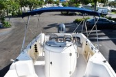 22 ft. Hurricane Boats FD 211 Deck Boat Boat Rental Tampa Image 5