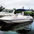 22 ft. Hurricane Boats FD 211 Deck Boat Boat Rental Tampa Image 6